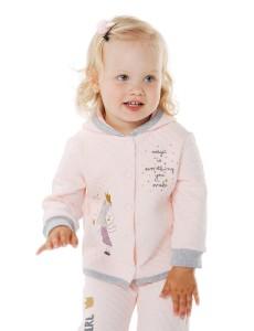 116359 Куртка для девочки Розовый персик