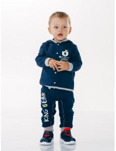 116137 Куртка для мальчика Синий