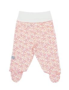 107326 Ползунки-штанишки унисекс Розовый рисунок