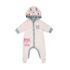 122032 Комбинезон для девочки Розовый персик