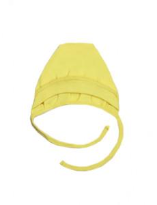 118554 Чепчик для девочки Желтый