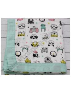 Муслиновое одеяло Животный мир