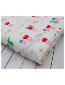 Муслиновое одеяло Свинка Пеппа