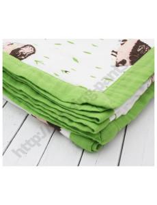 Муслиновое одеяло Ежик в лесу