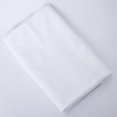 Клеенка подкладная с ПВХ покрытием 0,48х0,68 м  белая арт.51435