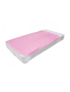 Клеенка подкладная с ПВХ покрытием  1,4м х 1,0м розовая арт.7512