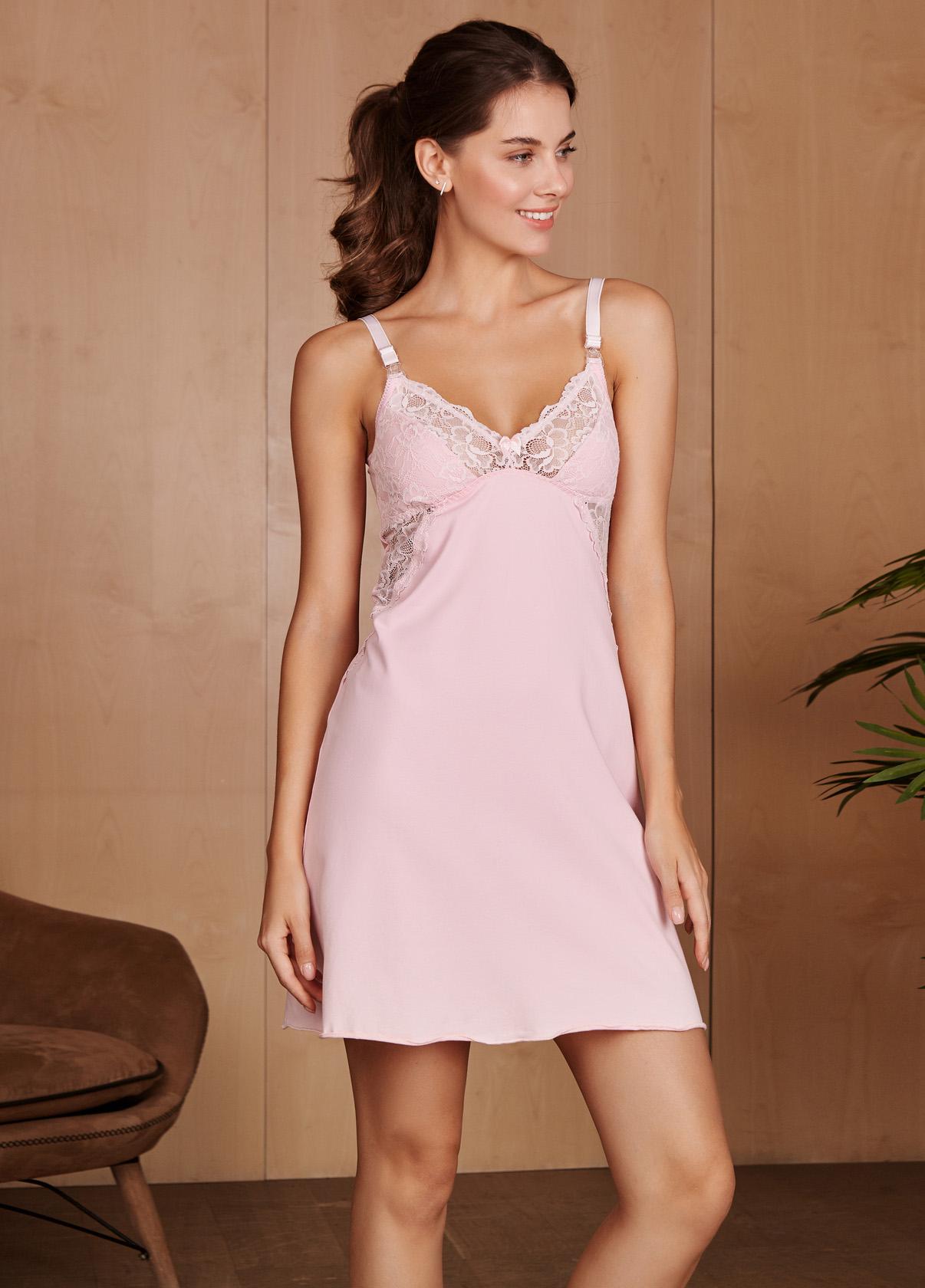 e4df9b50b368fa2 Ночная сорочка Izabel для беременных и кормящих; цвет: розовая 4438. 0.  1000.00 ₽. Купить. В закладки