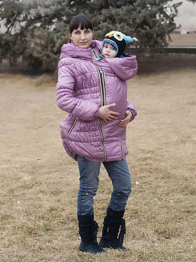 Ребенок в куртке 3 в 1